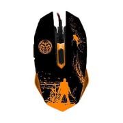 Mouse gaming, Iggual Onaji Gaki, 2400 DPI, iluminare in 7 culori LED, negru
