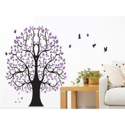 Sticker perete Purple Tree