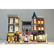 Assembly Square Lighting Kit for Lego 10255 Set (LEGO set Not Included) by Brick Loot
