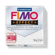 Gyurma, 56 g, égethető, FIMO Effect, csillámos fehér (FM8020052)