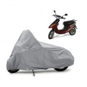 AutoAge Two Wheeler Red+Black Cover for Yo Bike Yo Electron