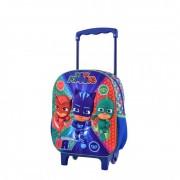 Troler pentru gradinita 3D Pj Masks - Eroi in pijama