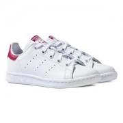 adidas Originals Stan Smith Sneakers Vit/Rosa Barnskor 30 (UK 11.5)
