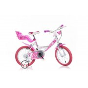 "Bicicleta copii DINO BIKES 164RN, Roti 16"", Little Heart"