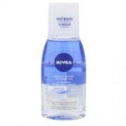 Nivea Double Effect Eye Make- up Remover 125ml Премахване на грим за Жени Водоустойчив грим