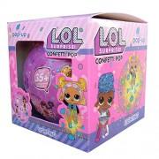 L.O.L. Surprise - LOL Collectible Doll Assorted Confetti Pop Series - 9 Surprises