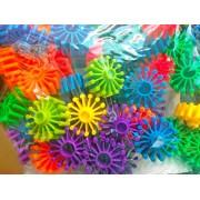 Building Blocks 3D Puzzle -- Children Plastic Toy Random Shapes Puzzle Block -- Color Recognition -- Matching Assembly -- Quiz Mind Stimulation (Design 1)