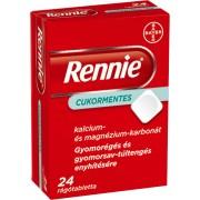 BDV Rennie cukormentes rágótabletta - 24x