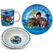 Set mic dejun 3 piese ceramica Patrula Catelusilor Ryder