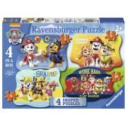 PUZZLE PAW PATROL, 4/6/8/10 PIESE - RAVENSBURGER (RVSPC06979)