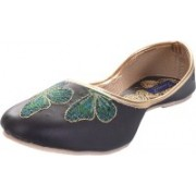 Tamanna butterfly Bellies For Women(Black)