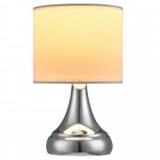 [lux.pro]® Елегантна настолна лампа - нощна лампа - Pandora / 1 x E14, Бяла