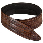 Golden Gate SG-5311 Shelton Leather Guitar Strap - Walnut Brown