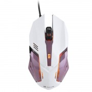 NGS GMX-100 Rato Gaming 2400DPI Rosa