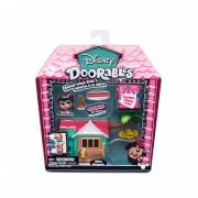 Mini set de constructie Lilos Hangout Doorables S1, 2 figurine, accesorii incluse