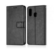 Andersson Premium Wallet Case Black for Samsung Galaxy A40