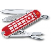 Victorinox Classic - A Trip to London - Limited Edition 2018 Swiss Army Knife(Red)