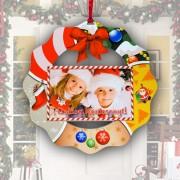 Karácsonyi fa ajtódísz