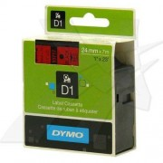 Dymo Taśma DYMO D1 24mm/7m czarny /czerwony