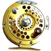 Futaba Metal Fly Fishing Wheel Reel - Gold - 1000A
