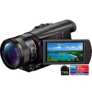 Camera video Sony 4K FDRAX100EB, Negru