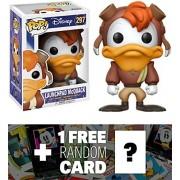 Launchpad McQuack: Funko POP! Disney x Darkwing Duck Vinyl Figure + 1 FREE Classic Disney Trading Card Bundle (13261)