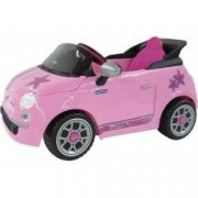 Peg Perego Fiat 500 star 6Volt - Automobile per bambine radiocomando rosa