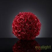 Aranjament floral elegant in forma de sfera, SPHERE ROSES BIG 1141064.30