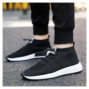 Hombre Zapatos Deportivo Casual Y Respirable -Negro