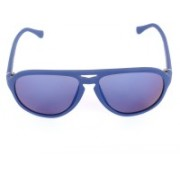 Calvin Klein Aviator Sunglasses(Blue)