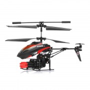 Elicopter micro cu rachete V 398, LED, telecomanda