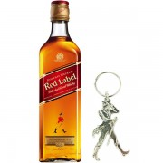 Johnnie Walker Red Label Breloc Gift Set 0.7L