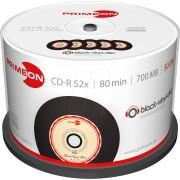PRIM 2761108 - CD-R 80Min/700MB, 50-er Cakebox