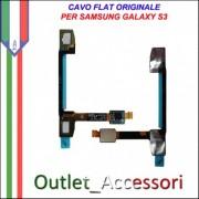 Flat Flex CavoTasti Tastiera Sensore Ricambio Originale per Samsung Galaxy S3 I9300