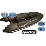 Sportex čln - Shelf 360cm pevná podlaha so stredovým kýlom