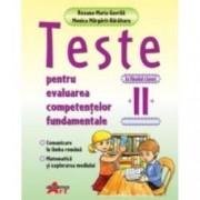 Teste pentru evaluarea competentelor fundamentale la finalul clasei a II-a