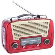 Set - Radio AM FM SW1/2 MP3 player cu lanterna Fepe FP-1502U Rosu + Suport Universal de Birou Pentru Tablete sau Telefoane