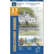 Topografische kaart - Wandelkaart 37 Discovery Mayo (SW), Galway | Ordnance Survey Ireland