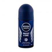 Nivea Men Protect & Care 48h deodorante antitraspirante roll-on per pelli sensibili 50 ml uomo