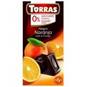 TR. No sug. add. 09. Narancsos étcsokoládé 75 g