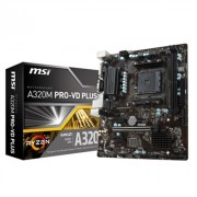 MSI Placa Base A320M PRO-VD PLUS mATX AM4