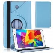 Xssive Tablet Hoes - Case - Cover 360° draaibaar voor Samsung Galaxy Tab 4 8 inch T335 T330 T333 T331 Licht Blauw