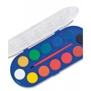 Акварелни бои 12 цвята, Ф 30 мм