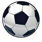 Mouse Pad Bola de Futebol Formato