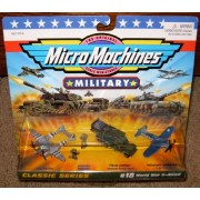 Micro Machines World War Ii Allied #18 Military Collection