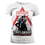 Batman Arkham City - Obey Order Girly Tee