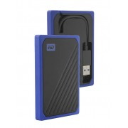 Жесткий диск Western Digital WD SSD My Passport Go 1Tb Blue WDBMCG0010BBT-WESN