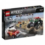 Lego Speed Champions Rallyeauto 1967 Mini Cooper S und 2018 Mini John Cooper