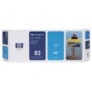 HP Tinteiro UV DesignJet 5000 (C4941A) Nº83 Azul
