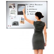 Heavy use Vitreous Enamelled Magnetic Whiteboard 1500x1200mm